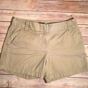 J Crew, City-Fit Khaki/Chino Shorts